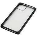 iPhone 12 Pro Max用マグネットアルミバンパーケース